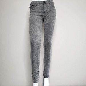 Rock & Republic | Gray Animal Print Skinny Pants